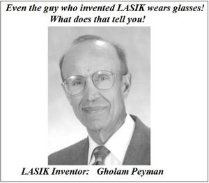 Lasik Inventor