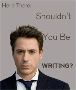 Shouldn't You Be Writing?